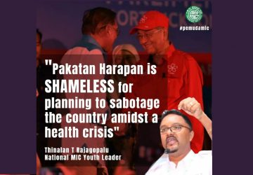Pakatan Harapan is shameless for planning to sabotage the country amidst a health crisis
