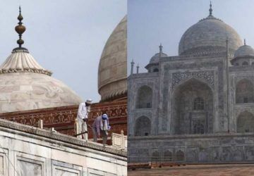 Taj Mahal, one of the seven wonders of the world damaged in deadly thunderstorm