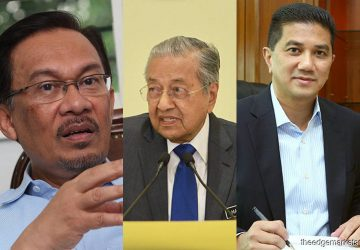 PH was doomed by Azmin-Anwar rivalry, says Dr M