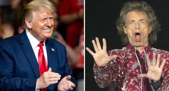 Rolling Stones warns Trump of legal action over song use