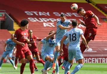 Champ Liverpool's home winning streak ends in draw with Burnley