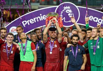 Liverpool celebrate long-awaited title after beating Chelsea in eight-goal thriller