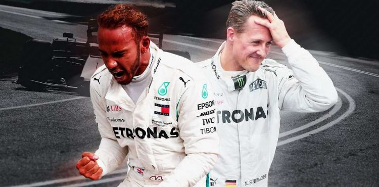 Hamilton set to equal Schumacher's record 91 wins