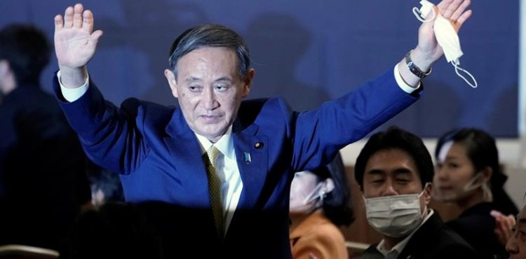 Yoshihide Suga elected as Japan's new PM