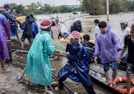 At least 13 killed, dozens missing after typhoon lashes Vietnam