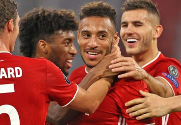 Bayern begin Champions League title defense in style, Liverpool and Manchester City record wins