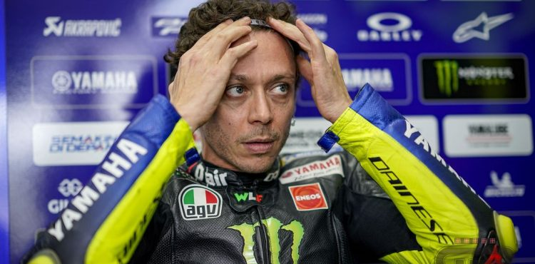 Rossi set for emotional farewell in MotoGP finale