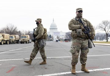 Washington on lockdown as security threats mount