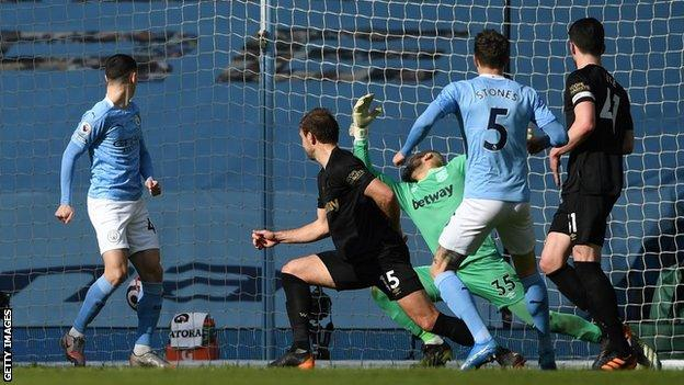 Man City stride clear, Brighton pay the penalty amid refereeing chaos