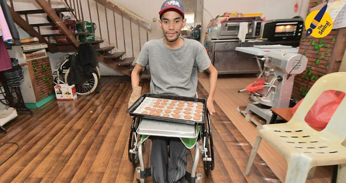 Paralympic athlete Mohamad Sufian Jasmi refuses to give up on himself.