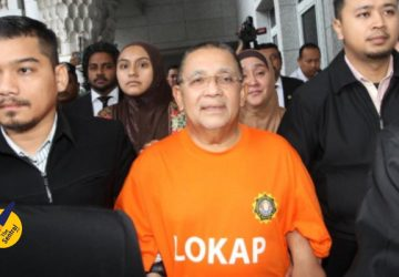 Tan Sri Isa Samad sentenced to 54 years jail, fined RM15.45 million.