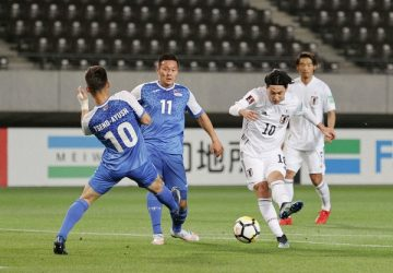Japan hit World Cup qualifying record in rout of Mongolia