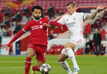 Real Madrid frustrate Liverpool to move into Champions League last four