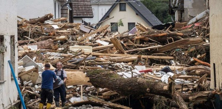 Flood death toll rises to 156 in Germany, 183 for Europe