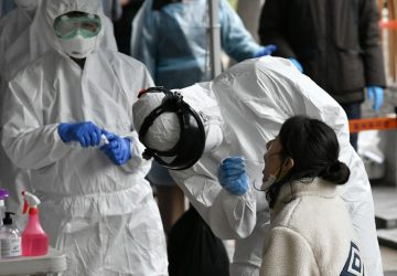 South Korea reports highest Covid-19 case count since Jan 7