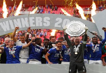 Leicester win Community Shield 1-0, dampen Grealish's Man City debut