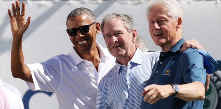 US Ex-Presidents Bush, Clinton, Obama band together to aid Afghan refugees