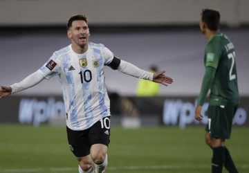 Messi breaks Pele record as Argentina rout Bolivia, Brazil stroll